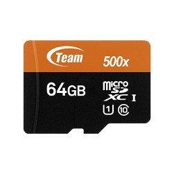 *╯新風尚潮流╭* TEAM十銓 64G 64GB Micro SDXC C10 U1 TUSDX64GUHS03