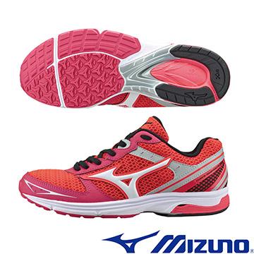 J1GB168601 (粉紅X白)WAVE EMPEROR TR(W) 皇速! 女路跑訓練鞋  A【美津濃MIZUNO】