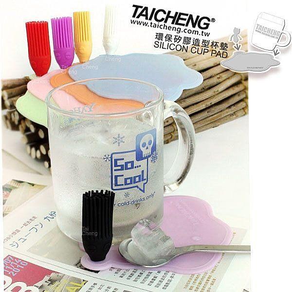 日本MAKINOU|環保矽膠杯墊|台灣製專利 日式無毒 通過SGS 牧野丁丁