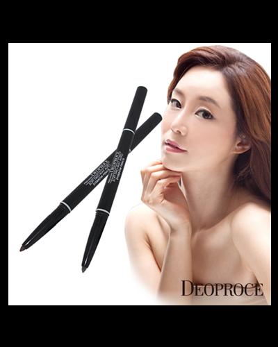 【Deoproce】自動雙頭眉筆(拋棄式) 30mm*2  ►韓國美妝 原裝進口