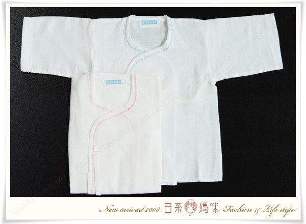 ☆愛戀小媽咪.嬰兒用品☆【R7003】初生兒系列-柔棉紗布內著衣