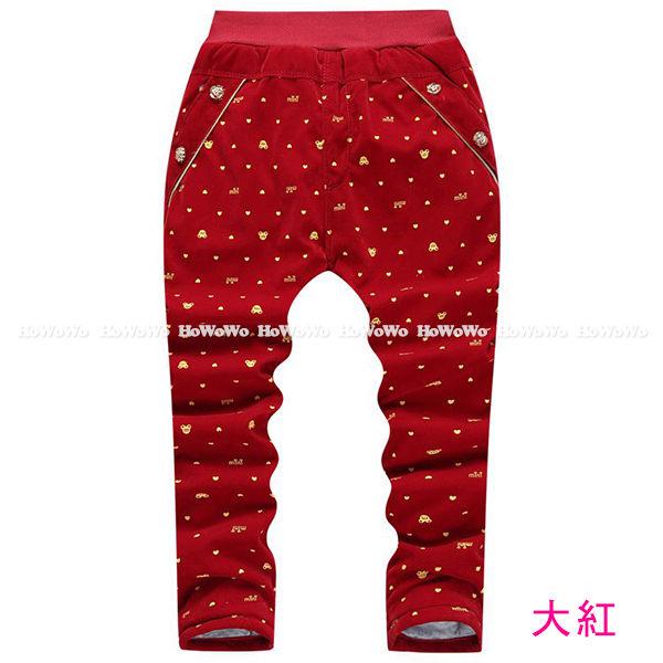 厚款長褲 兒童鋪棉雙層保暖長褲 AIY2038