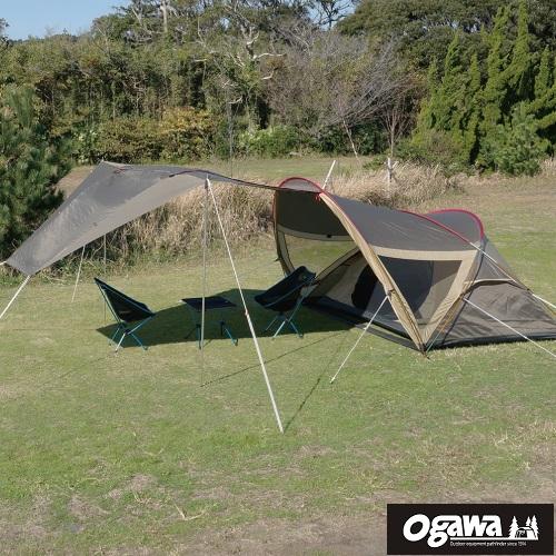 Shanty23 寢室+天幕2合1功能帳 Ogawa帳篷 小川帳篷