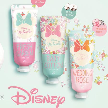 韓國 ATEX x Disney 米妮甜蜜初戀護手霜 35ml 迪士尼 聯名款 護手乳【B062262】