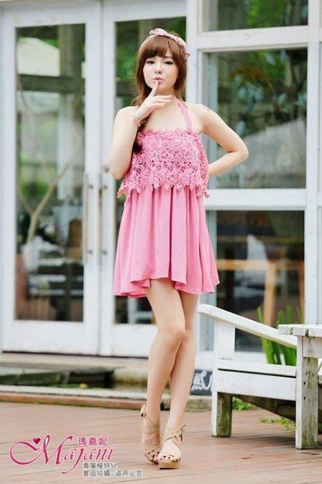 [瑪嘉妮Majani]- 甜美 氣質 大尺碼小禮服 伴娘服 沙灘裙  L~3XL 特價550元 免運 ds-112