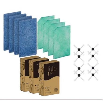 熱賣款 EMEME 掃地機器人 吸塵器 Tulip101  專用耗材(一年份)