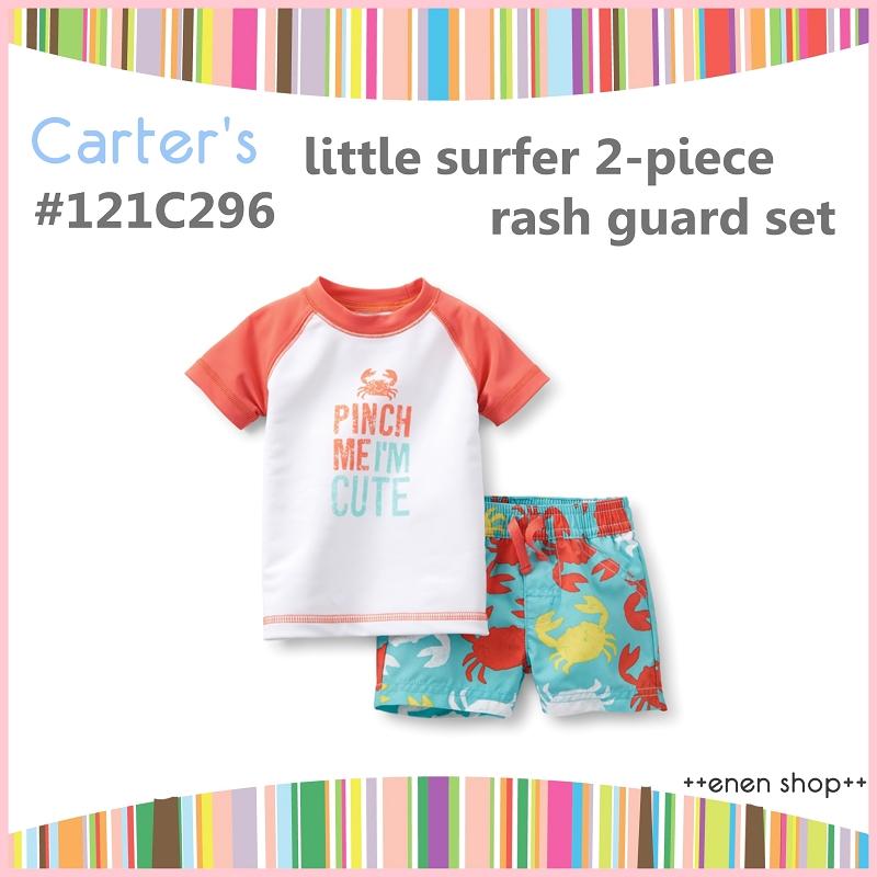 Enen Shop @Carter's 淘氣小螃蟹兩件式泳裝/泳衣 #121C296 ∥ 12M **最後一套**