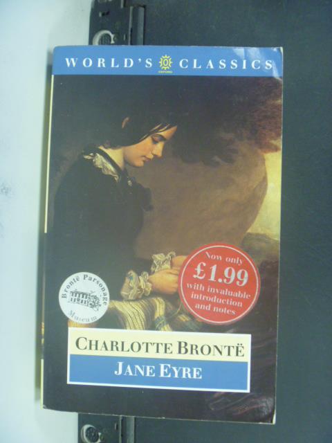 【書寶二手書T6/原文小說_GOS】Charlotte Bronte_Jane