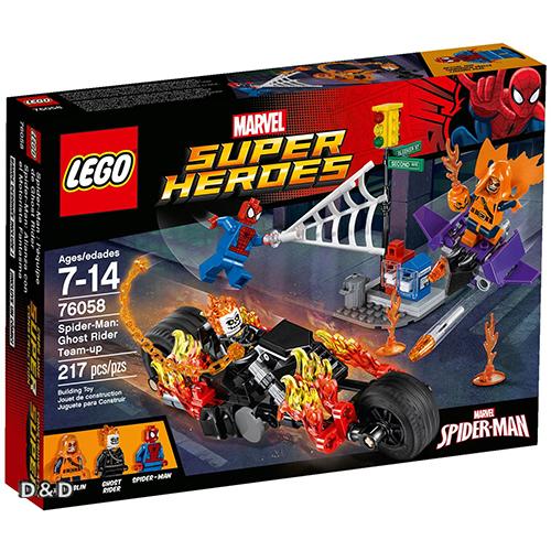 樂高積木LEGO《 LT76058 》SUPER HEROES 超級英雄系列 - 蜘蛛人 : Ghost Rider Team-up   : Doc Ock's Tentacle Trap