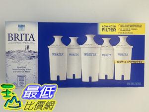 [105新款] Brita Water Filter 最新款 圓形濾心 (5入) ,相容舊款圓形濾心水壺