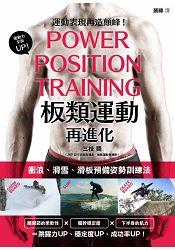 板類運動再進化:衝浪、滑雪、滑板預備姿勢訓練法