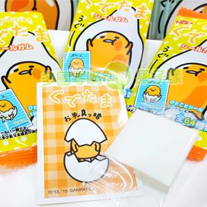 日本TOP製果 蛋黃哥口香糖 附貼紙 [JP366]