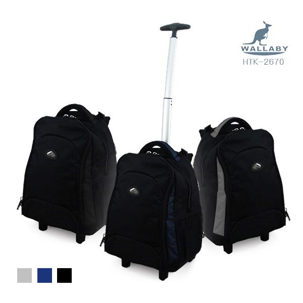 【加賀皮件】 WALLABY 小袋鼠 拉桿後背包 筆電包 16吋 多色可選 【HTK-2670】