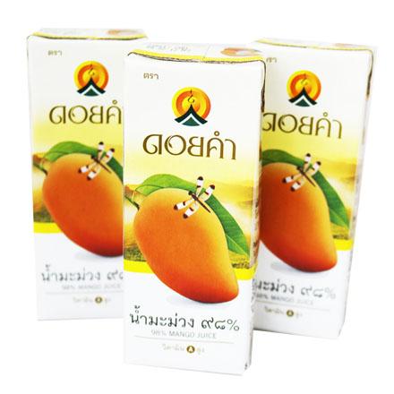 【敵富朗超巿】皇家農場98.3%鮮果汁-芒果200ml