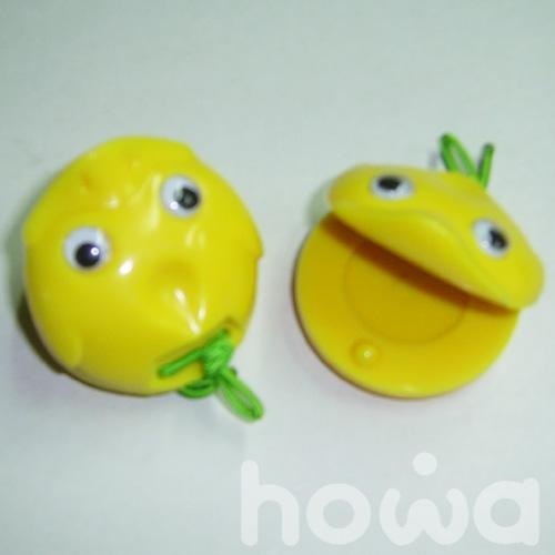 howa 豪華樂器  C-02  動物響板-2個 / 組 (顏色採隨機出貨)