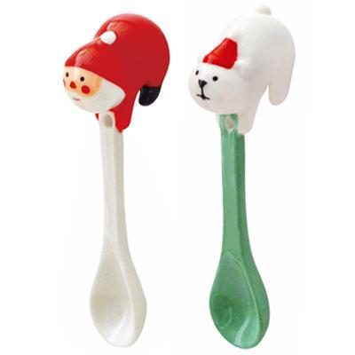 〔APM飾品〕溫馨團員歡樂聖誕派對-逗趣翹臀懸掛湯匙 (聖誕老人) (北極熊)