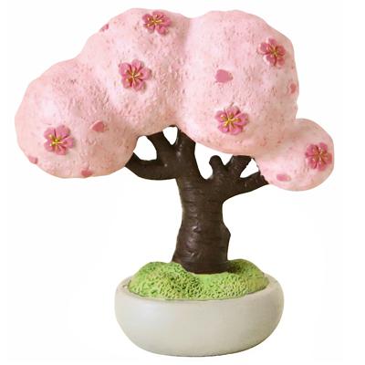 〔APM飾品〕動物們的春日野餐 - 櫻花盆栽