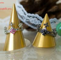 〔APM飾品〕經典色澤華麗皇冠戒指