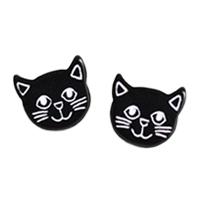 〔APM飾品〕日本Gargle 矯情臉孔逗趣貓咪耳環