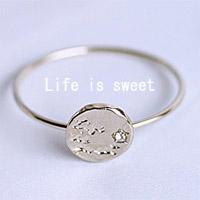 〔APM飾品〕日本Kaza 樂活人生甜蜜回憶戒指