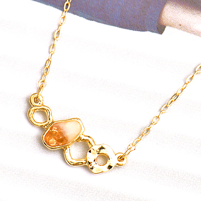 〔APM飾品〕日本Kaza 晶礦奇蹟能量之石項鍊