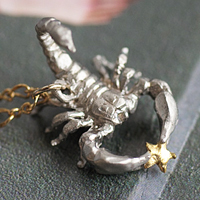 〔APM飾品〕日本Brough Superior 神秘天蠍座α 星項鍊