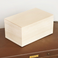 〔APM飾品〕日本 Daruma 婚禮祝賀許願達摩不倒翁專用木製收藏盒(可放入兩個達摩不倒翁)