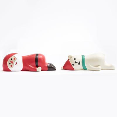 〔APM飾品〕聖誕老人與北極熊的聖誕派對 - 慵懶聖夜