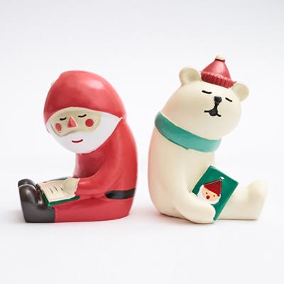 〔APM飾品〕聖誕老人與北極熊的聖誕派對 - 美夢聖夜