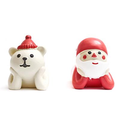 〔APM飾品〕聖誕老人與北極熊的聖誕派對 - 托下巴
