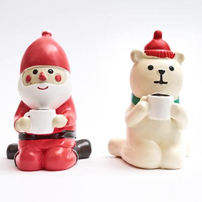 〔APM飾品〕聖誕老人與北極熊的聖誕派對 - 咖啡時光(S)
