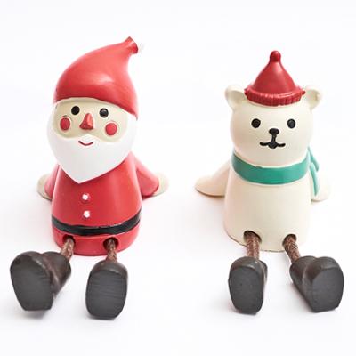 〔APM飾品〕聖誕老人與北極熊的聖誕派對 - 憨坐(S)