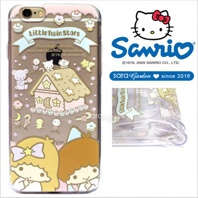 授權 三麗鷗 Sanrio 雙子星 kikilala 浮雕 彩繪 iPhone 6 6S Plus Note5 Z5 Z5P A5 A7 A9 手機殼 軟殼 糖果薑餅屋【D0220182】
