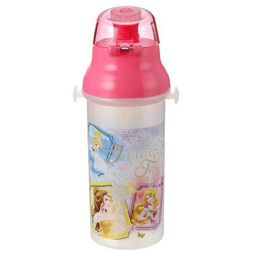 【百倉日本舖】日本製 迪士尼公主水壺/兒童水壺/直飲式水壺