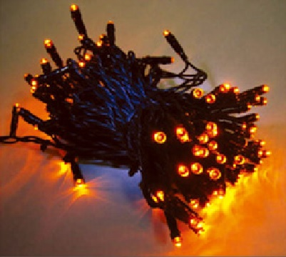 訂製品★LED聖誕燈串 黃色 110V/220V (100顆燈)★永旭照明5A1-CM26Y013(B)