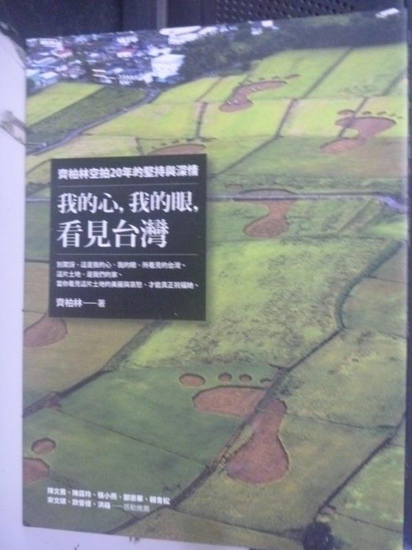 【書寶二手書T1/一般小說_QIE】我的心,我的眼,看見台灣_齊柏林