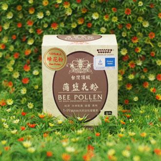 【嘟嘟家】台灣頂級蒲鹽花粉30包/盒-來自鹽膚木花季的台灣頂級花粉