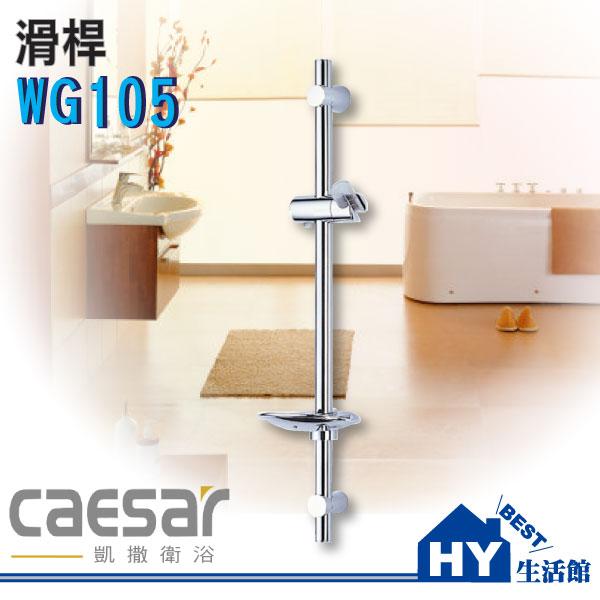 Caesar凱撒衛浴WG105滑桿【SPA淋浴用掛座升降滑桿組】《HY生活館》水電材料專賣店