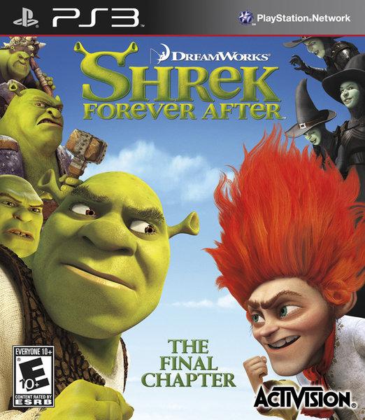 【Playwoods】[PS3遊戲] 史瑞克4 快樂4神仙 Shrek Forever After (英文亞版-輔導級-支援網路震動-冒險)