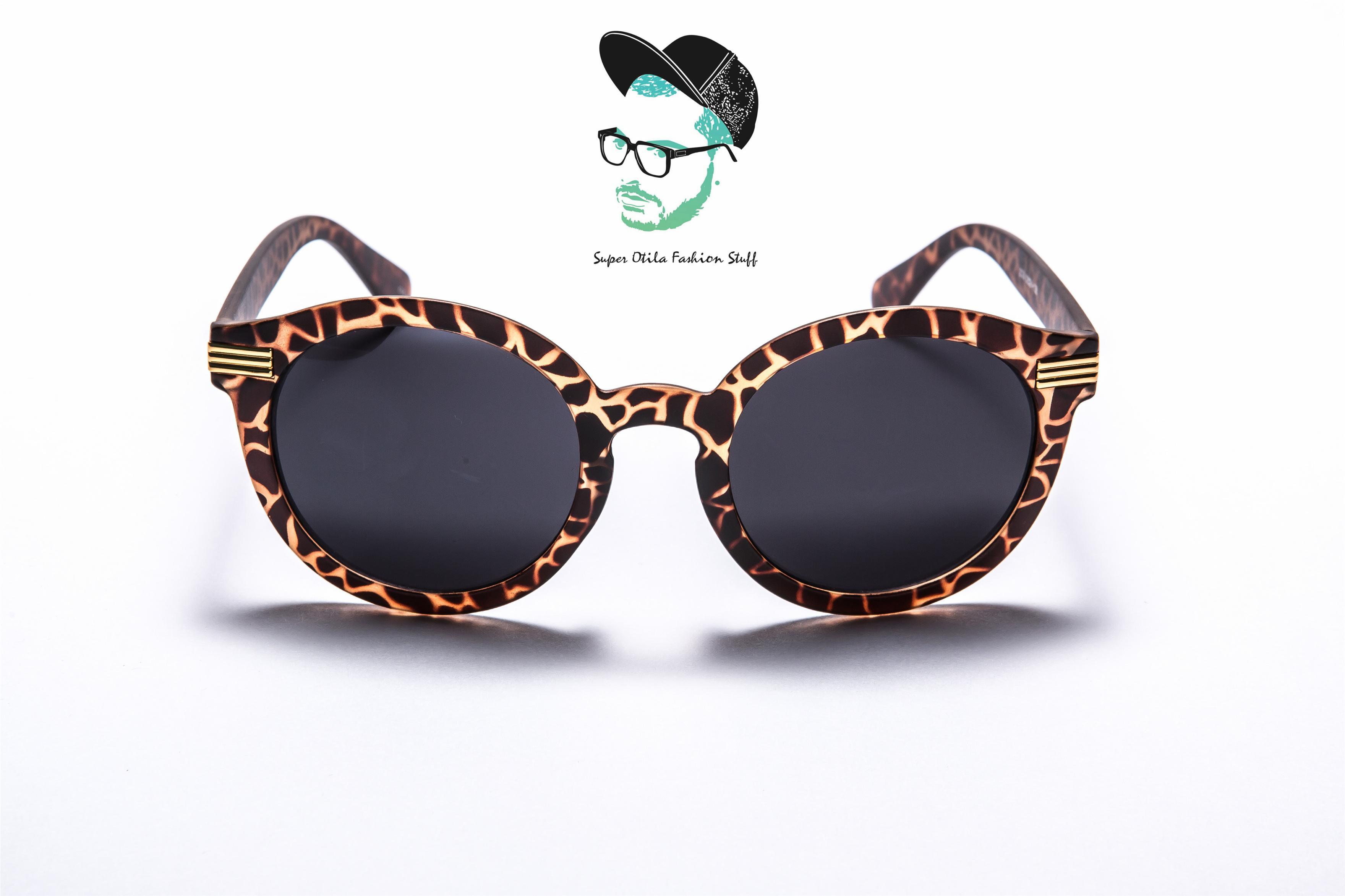 太陽眼鏡 墨鏡 眼鏡  韓國 super otila 【2039】糖果女孩-消光玳瑁
