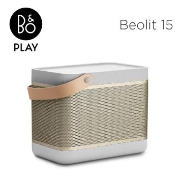 ├登山樂┤ 丹麥B&O B&O PLAY BEOLIT 15 無線藍牙喇叭-香檳金#BEOLIT 15-GD