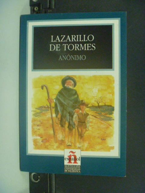 【書寶二手書T3/原文小說_GCK】Lazarillo de Tormes_Anonimo