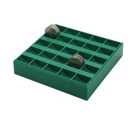 【W.I.P 韋億】JC-2500錢幣盒(10元x250枚) 148x146x29mm