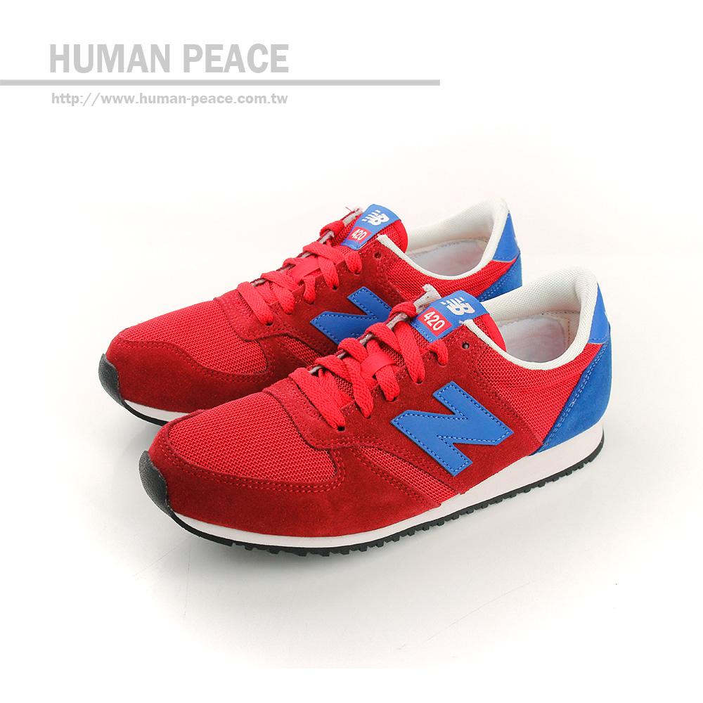 NEW BALANCE 420系列 休閒鞋 紅 女款 no695