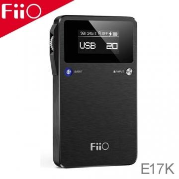 FiiO E17K DAC and 耳擴