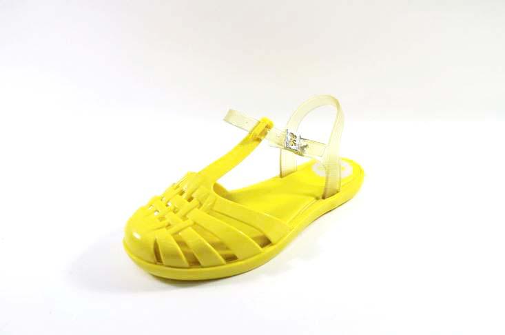 [陽光樂活]Zaxy(童)Dream Sandal Kid- 果凍 羅馬涼鞋-ZA8178490229鮮豔黃