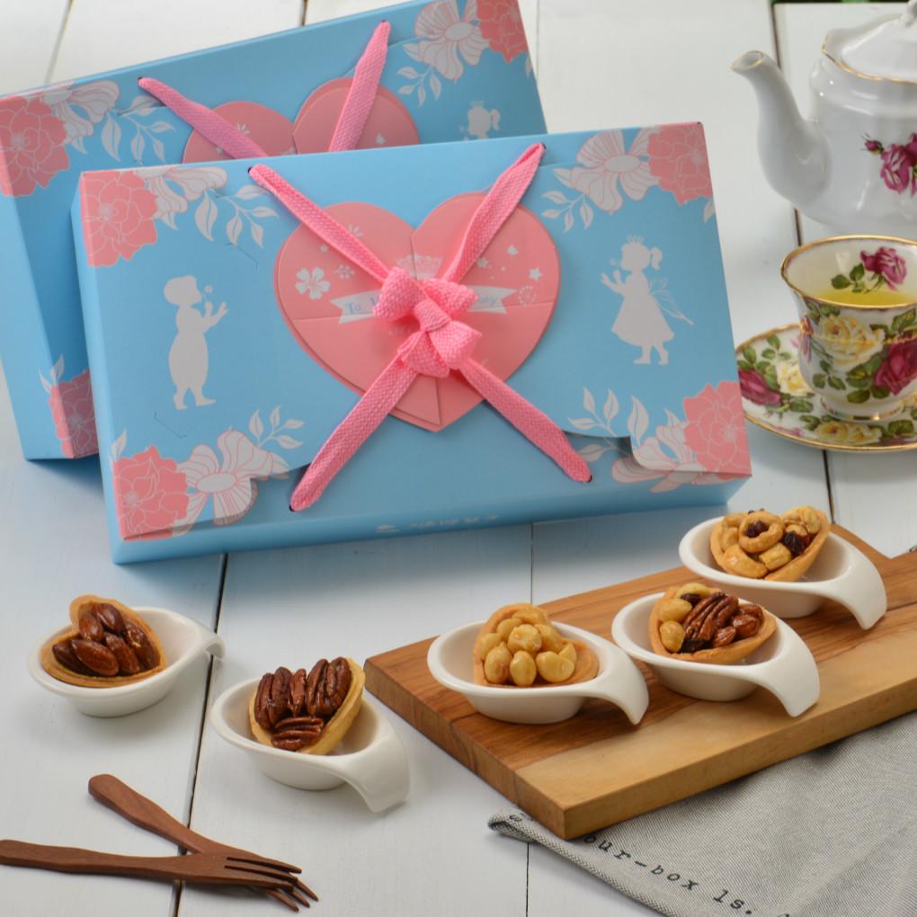 鴻鼎菓子idodo 心甘寶貝彌月禮盒(二)--12入  彌月/喜餅/伴手禮  蛋奶素 台灣1001個故事