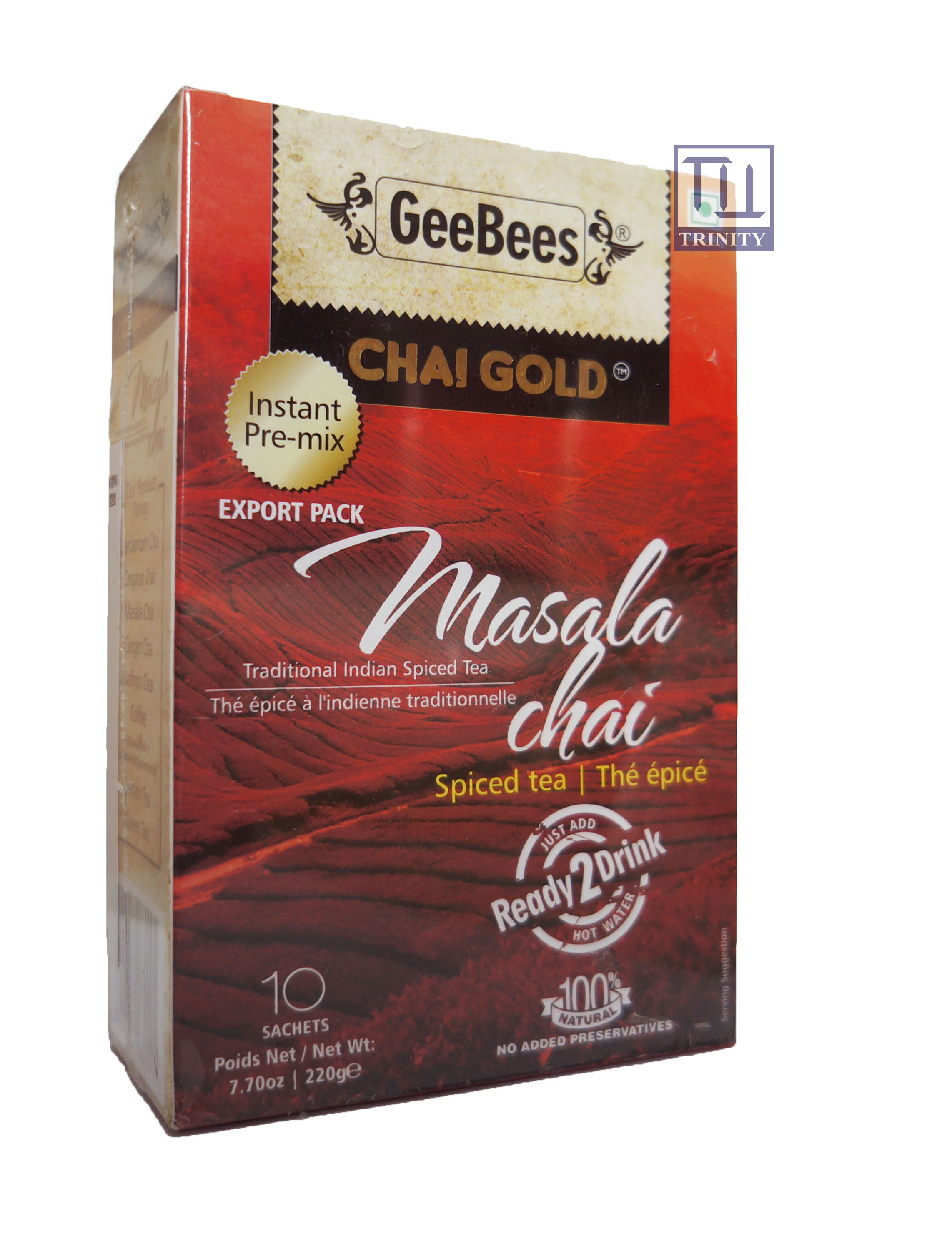 Chai Gold Masala Tea  (Sweetened)
