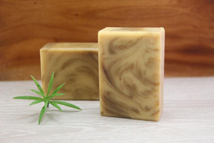 皂緣手工皂~珍珠玉容散蠶絲皂 一入