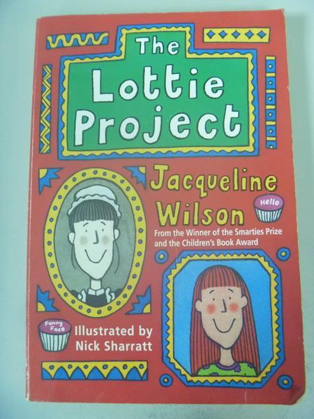 【書寶二手書T2/原文小說_IRT】The Lottie project_Jacqueline Wilson; illu